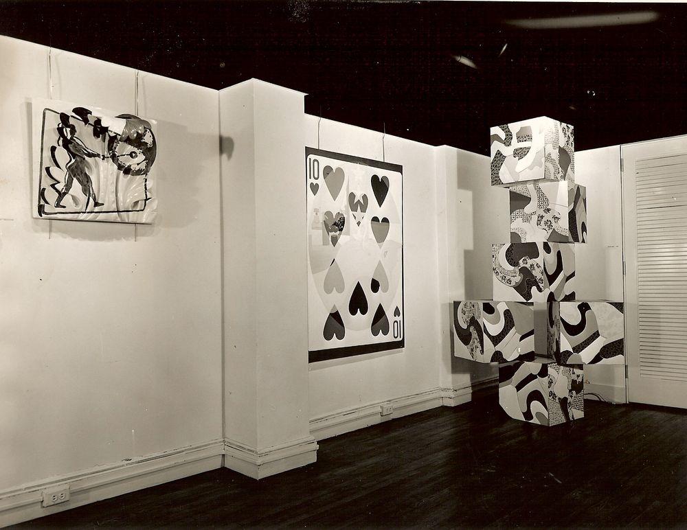 Artist:Alain JACQUET, Exhibition:Alain Jacquet, 1964
