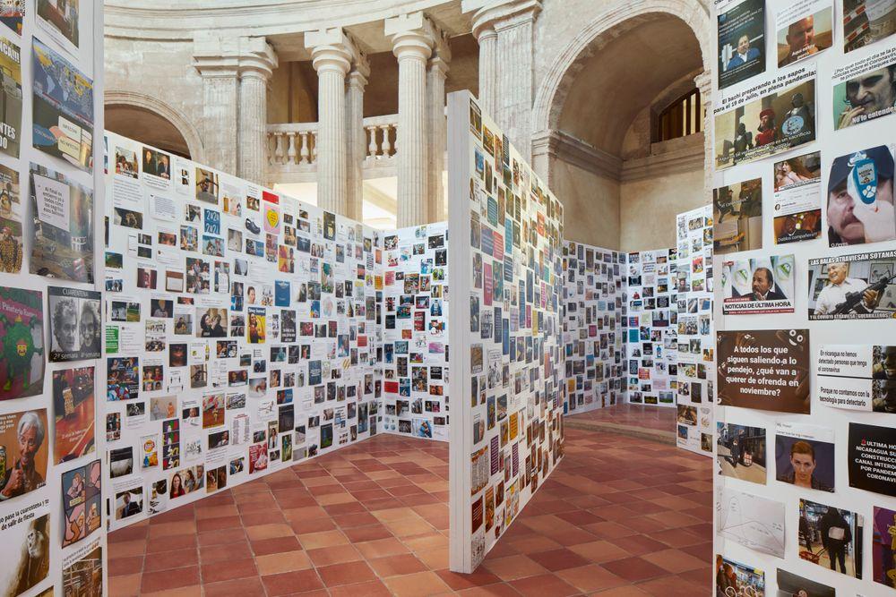 Artist:Paola PIVI, Exhibition:25,000 Covid jokes (It's not a joke)