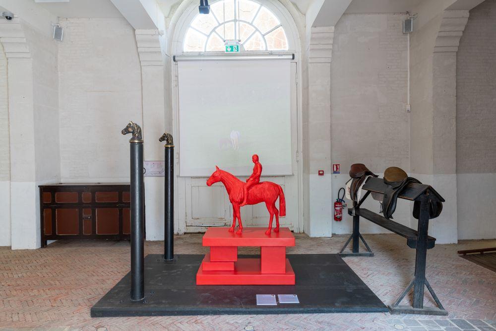Artist:Xavier VEILHAN, Exhibition:Prétexte – Du cheval à l'œuvre