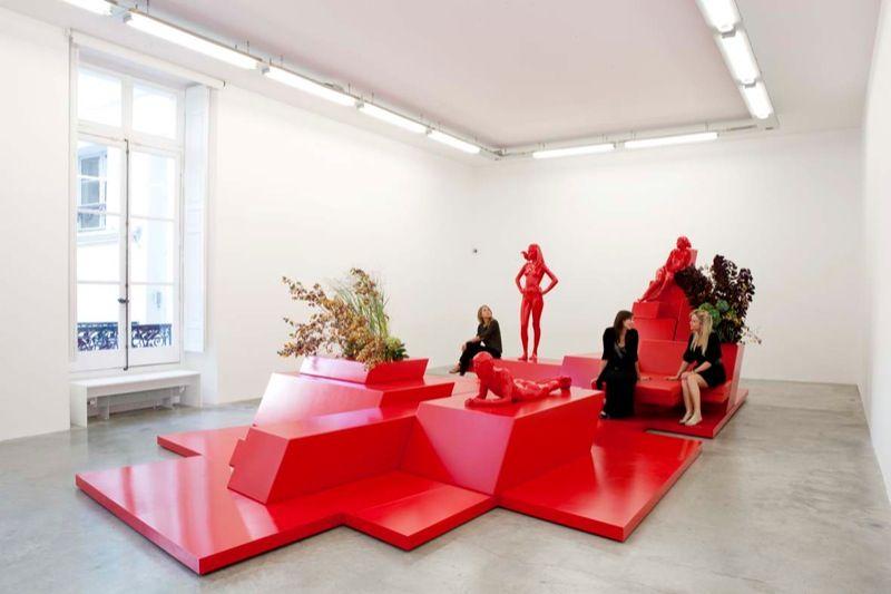 Artist:Xavier VEILHAN, Exhibition:Orchestra