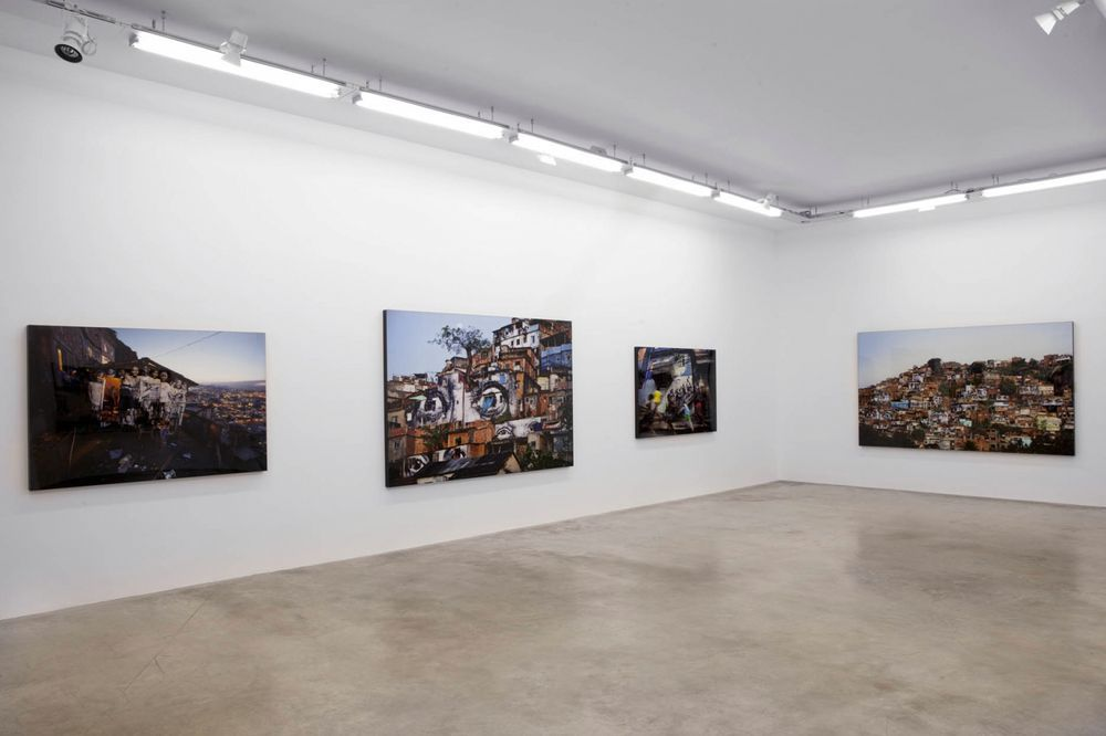 Artist:JR, Exhibition:Encrages