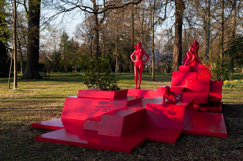 Artist:Xavier VEILHAN, Exhibition:Promenade