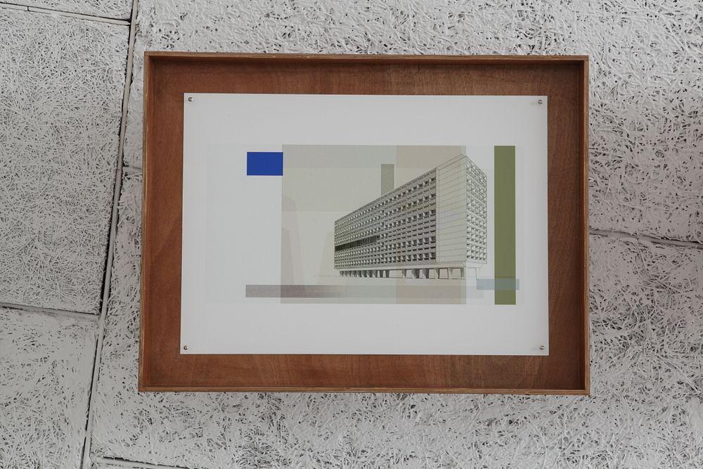 Artist:Xavier VEILHAN, Exhibition:Architectones, Cité Radieuse