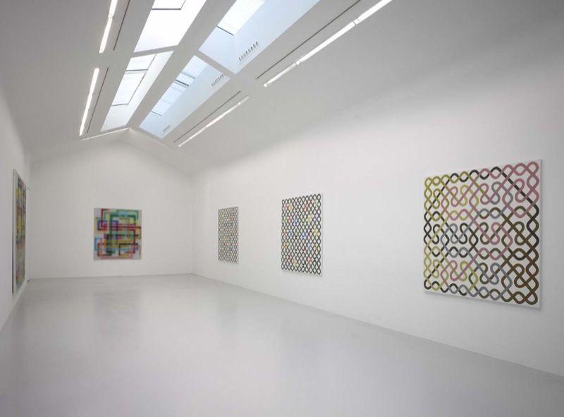 Artist:Bernard FRIZE, Exhibition:Longues lignes (souvent fermées)