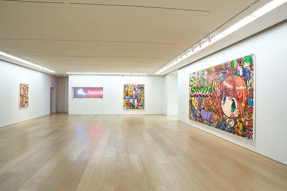 Artist:Mr., Exhibition:Sweeet!