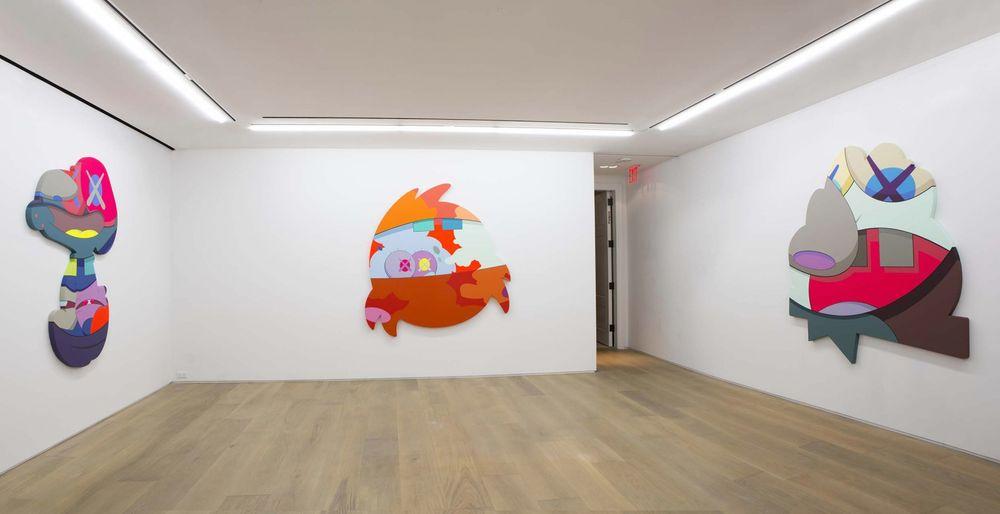 Artist:KAWS, Exhibition:PASS THE BLAME