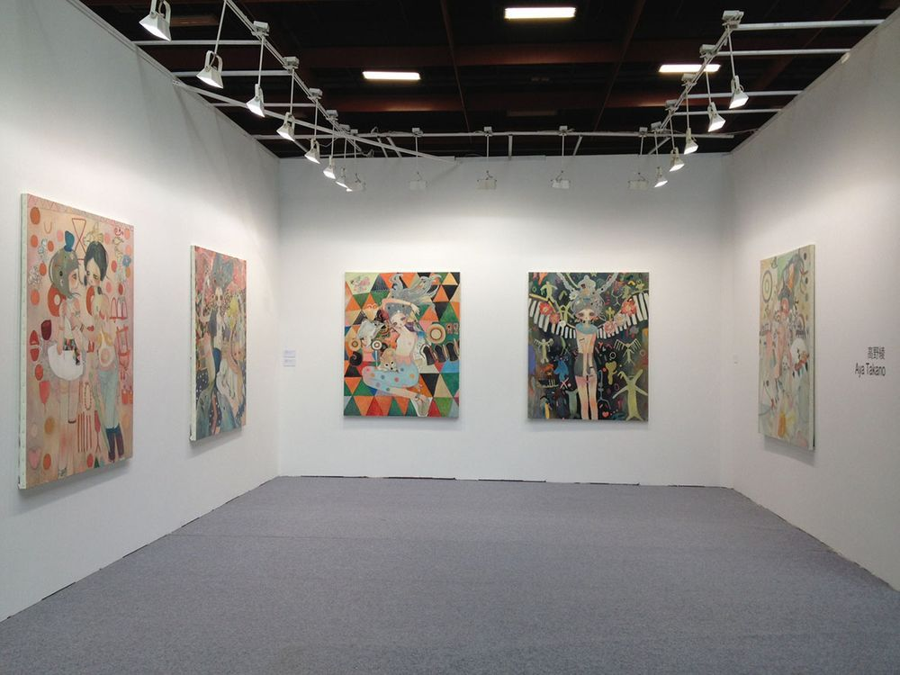 Artist:Aya TAKANO, Exhibition:ART TAIPEI