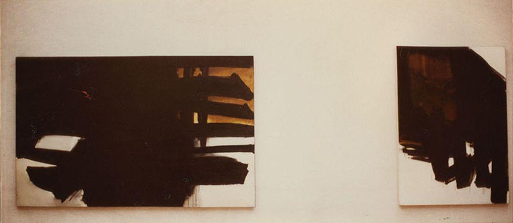 Artist:Pierre SOULAGES, Exhibition:Pierre Soulages