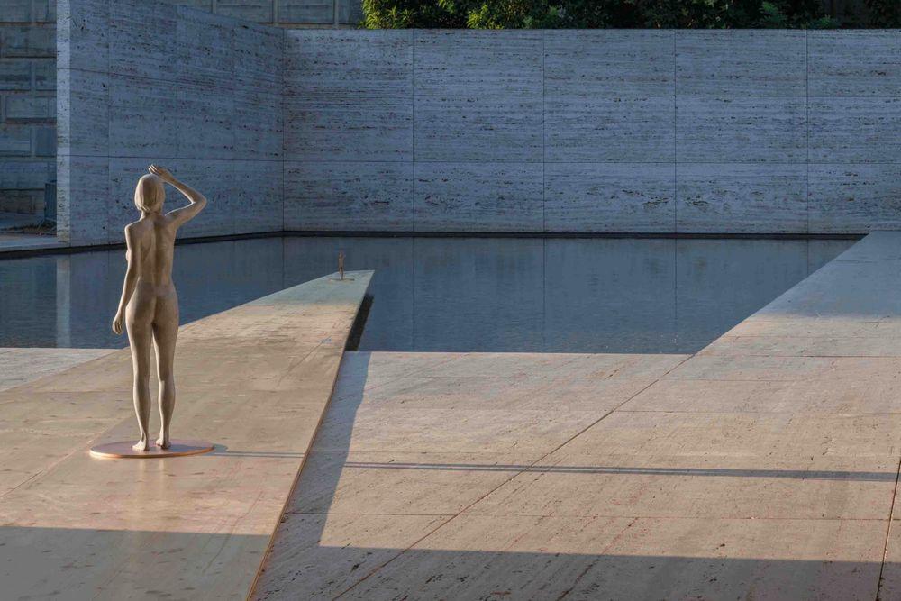 Artist:Xavier VEILHAN, Exhibition:Architectones, Pavillon Barcelona