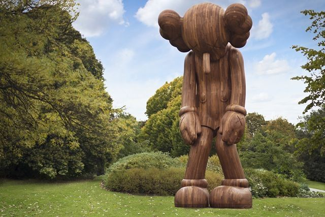 Artist:KAWS, Exhibition:Frieze sculpture park
