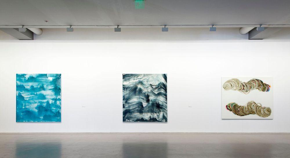 Artist:Bernard FRIZE, Exhibition:This is a Bridge