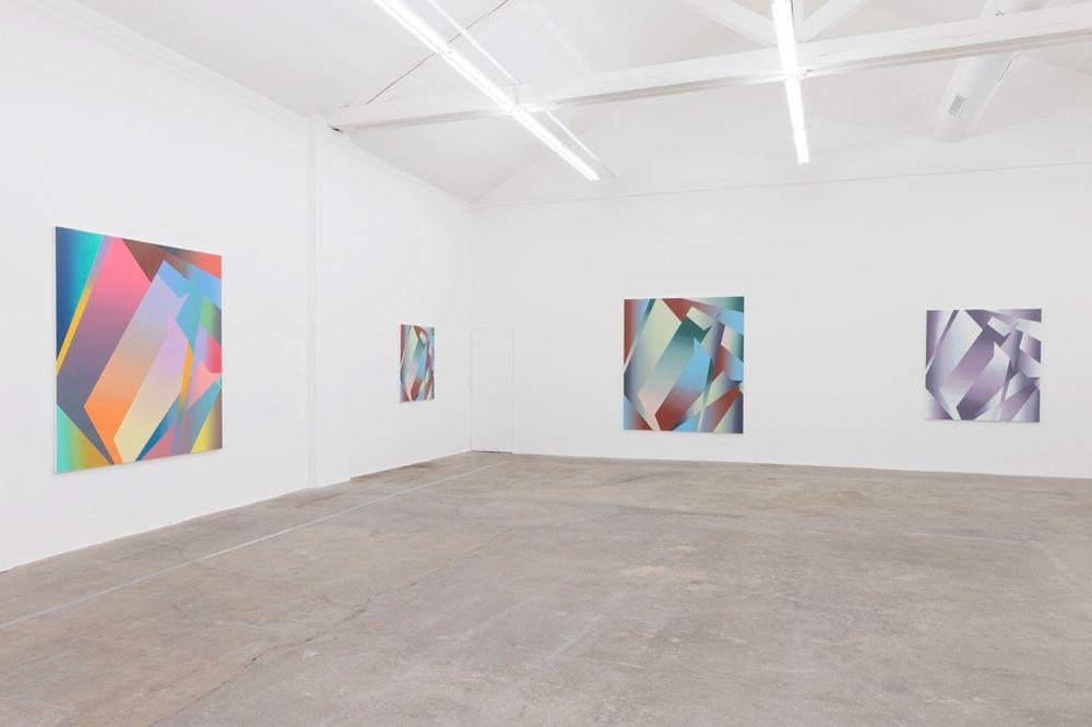 Artist:Bernard FRIZE, Exhibition: