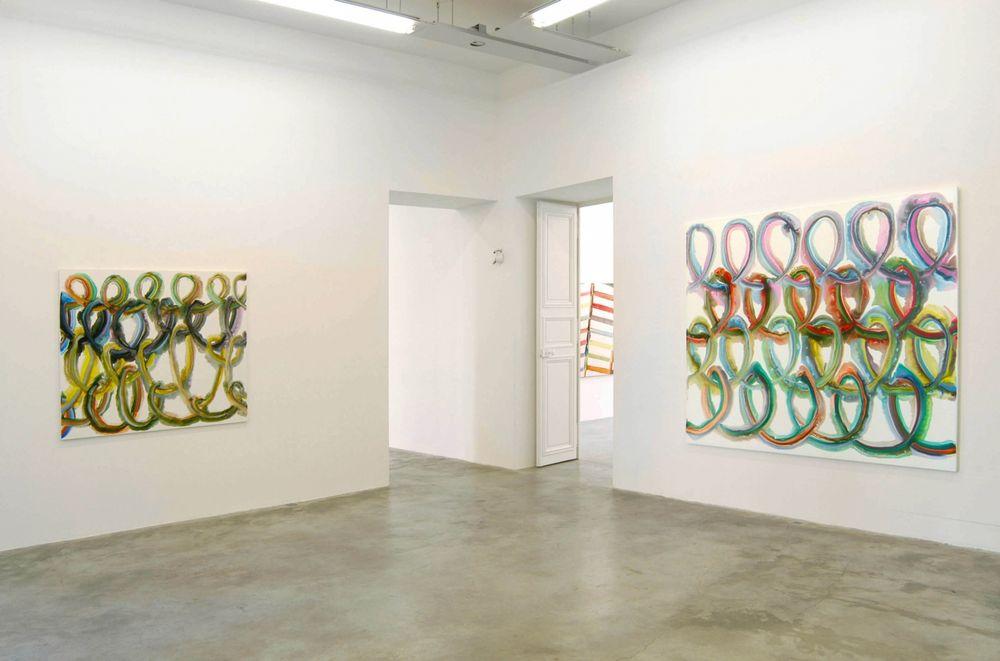 Artist:Bernard FRIZE, Exhibition:Faces et Profils