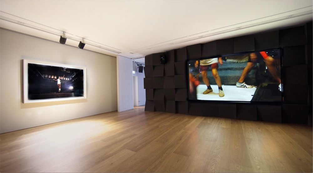Artist:Paul PFEIFFER, Exhibition:Three Figures in a Room