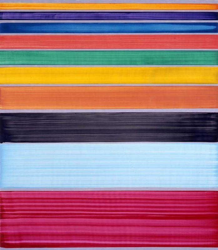 Artist:Bernard FRIZE, Exhibition:Postmen, bears, cliffs, carafes, motorbikes and sugar canes