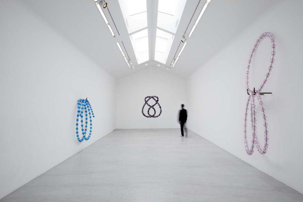 Artist:Jean-Michel OTHONIEL, Exhibition:Les Noeuds de Janus