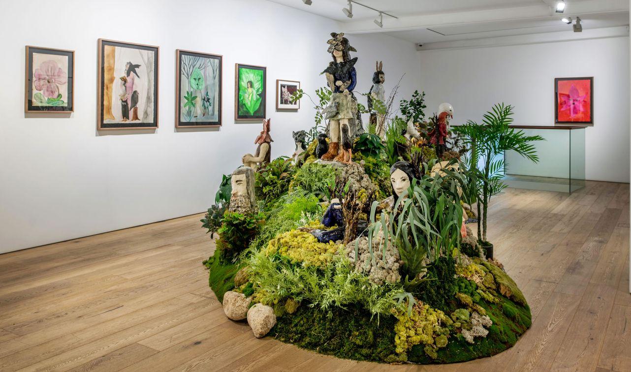 Artist:Klara KRISTALOVA, Exhibition:Soft parade