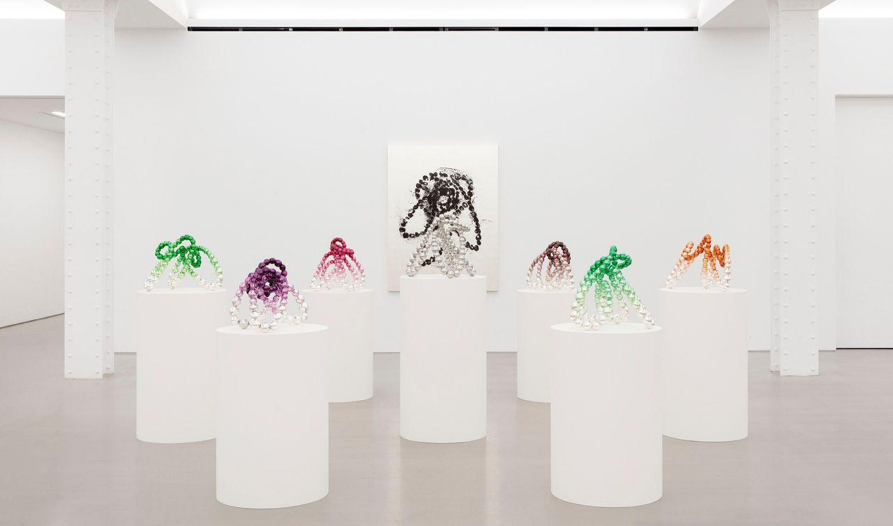 Artist:Jean-Michel OTHONIEL, Exhibition:Wild Rosebuds