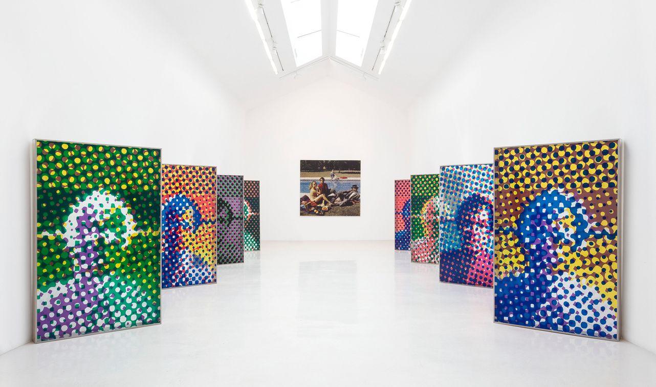 Artist:Alain JACQUET, Exhibition:Jeux de Jacquet