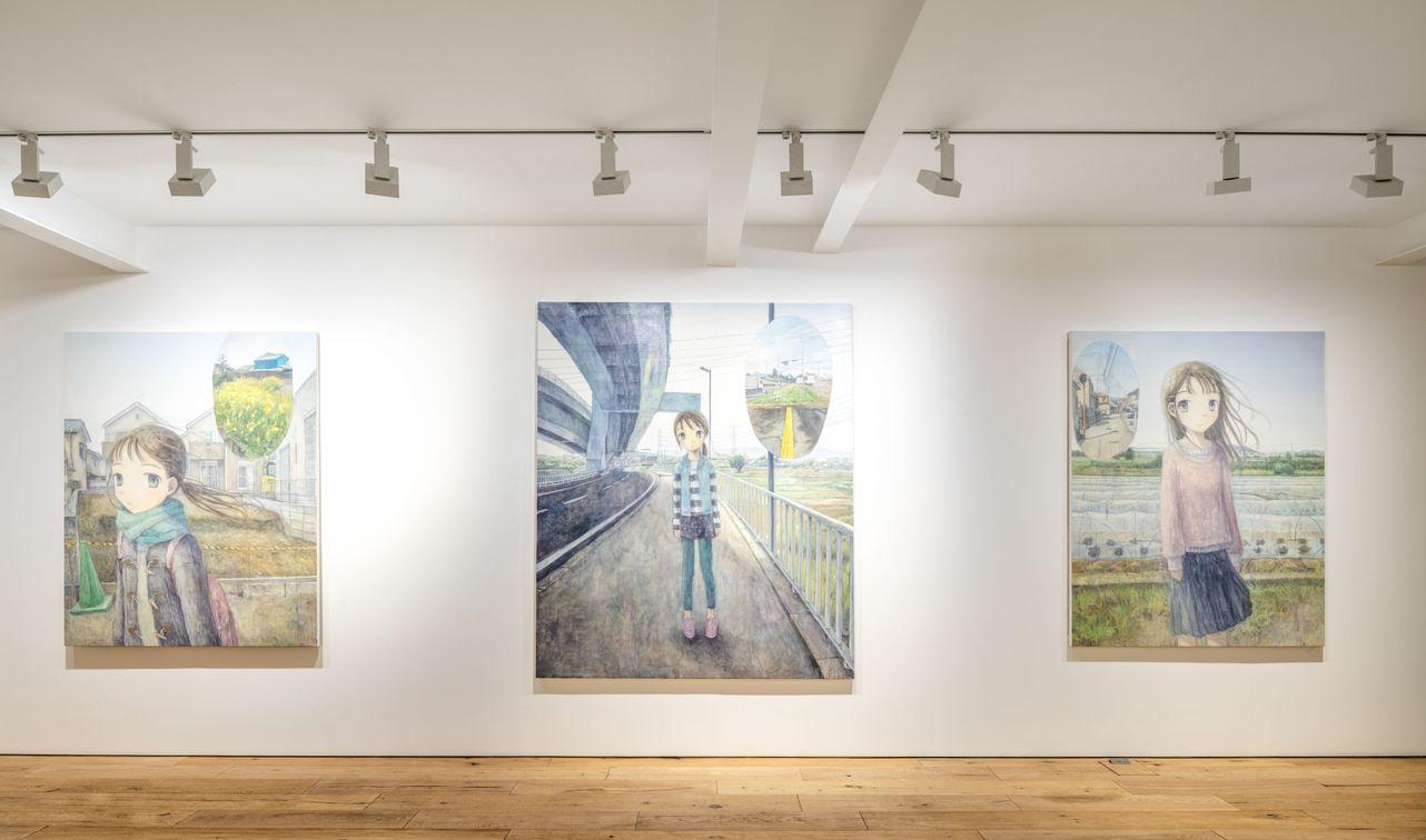Artist:Emi KURAYA, Exhibition:Window and Scales