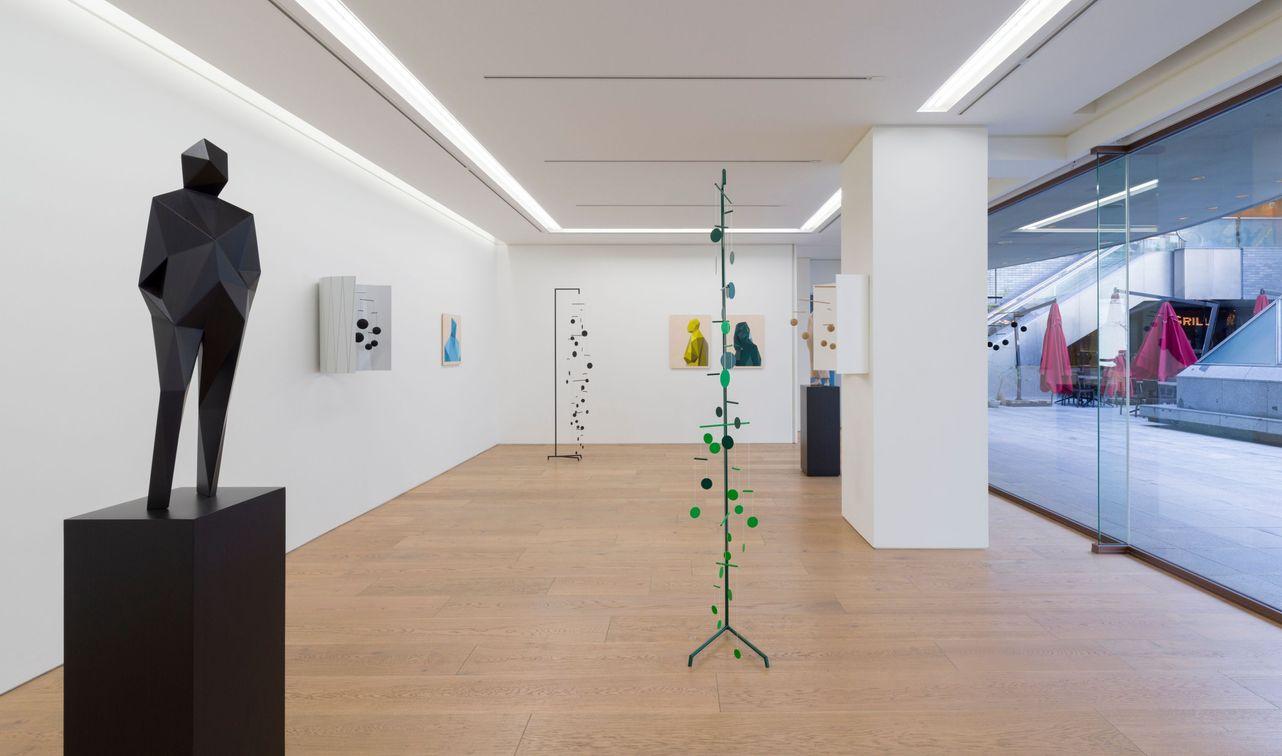 Artist:Xavier VEILHAN, Exhibition:CHEMIN VERT