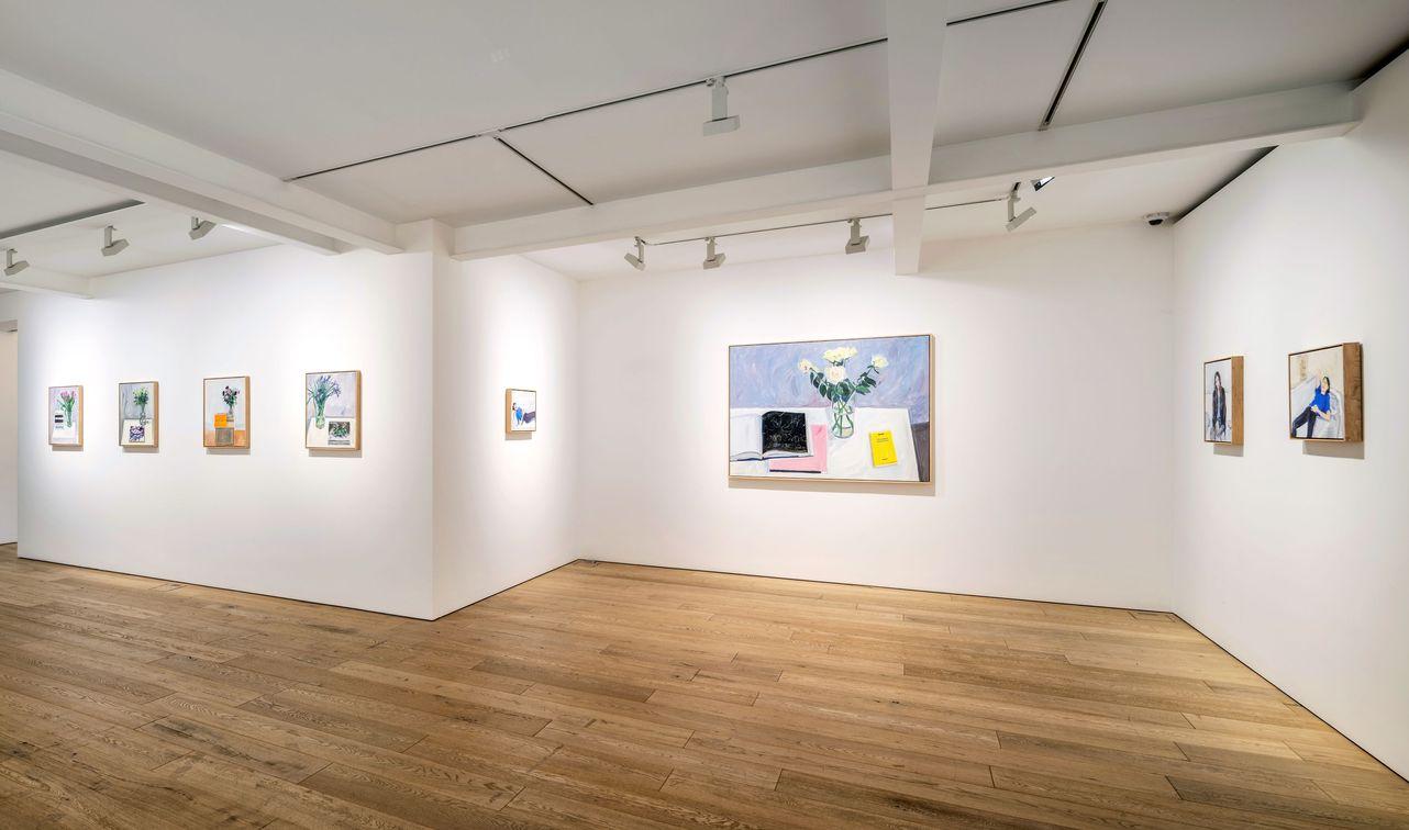Artist:Jean-Philippe DELHOMME, Exhibition:Flowers for books