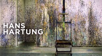 """Hans HARTUNG """"A constant storm"""", Perrotin New York"""
