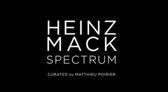 "Heinz MACK ""Spectrum"" Curated by Matthieu Poirier, Galerie Perrotin, Paris, 2016"