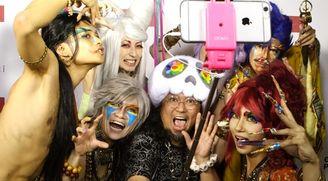 Art Basel 2015 party in honour of Takashi Murakami