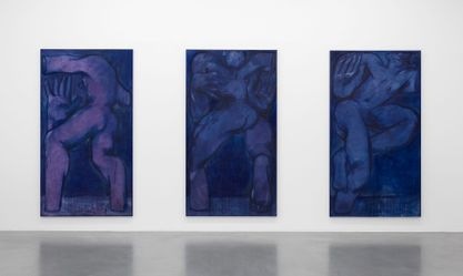 Artist:Alex FOXTON, Exhibition: Les Yeux Clos (Eyes Closed)