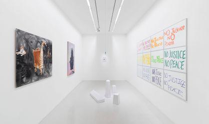 Artist:Boris ACHOUR, Exhibition: RESTONS UNIS : Sous le soleil exactement
