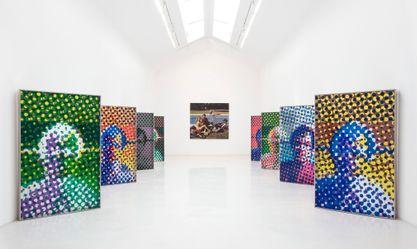 Artist:Alain JACQUET, Exhibition: Jeux de Jacquet