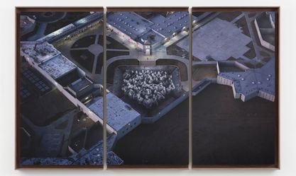 Artist:JR, Exhibition: TEHACHAPI