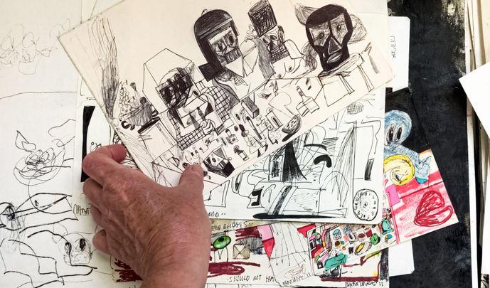 Artist:艾迪·馬丁内斯, Exhibition: Drawnantine