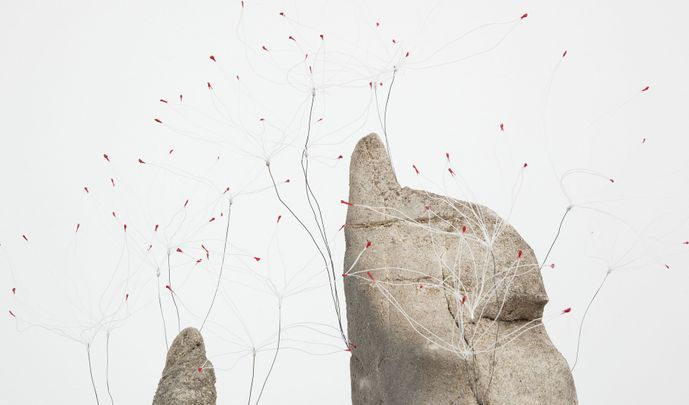 Artist:Daniel ARSHAM, Exhibition: Mist, and Rock, and Light