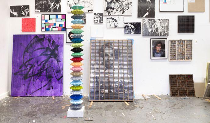 Artist:Gregor HILDEBRANDT, Exhibition: Ich will, daß Liebe wahr wird (I want love to come true)