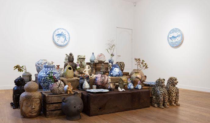 """GEIBI KAKUSHIN (""""L'innovation esthétique dans l'art de la céramique japonaise"""")"""