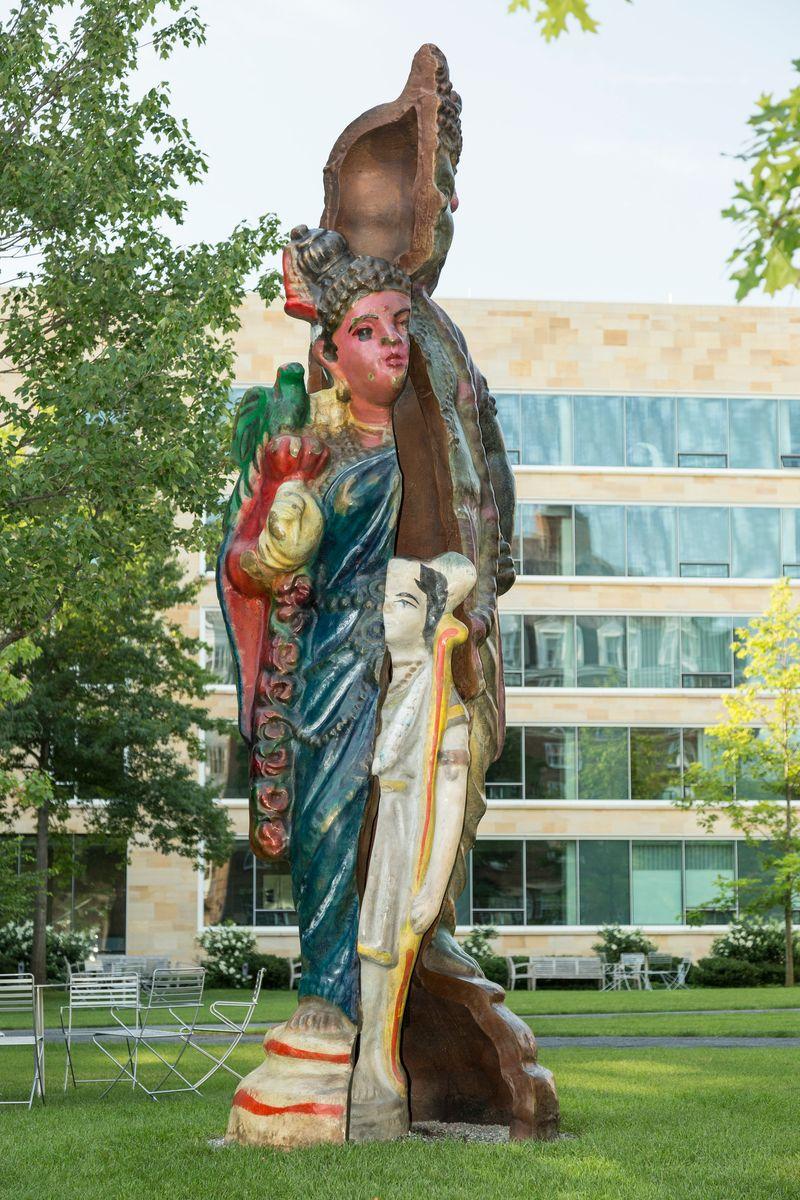 Installation view, Ludens Rignes Sculpture Exhibition, Harvard Business School, Boston / MAApril 1, 2019 - March 31, 2020