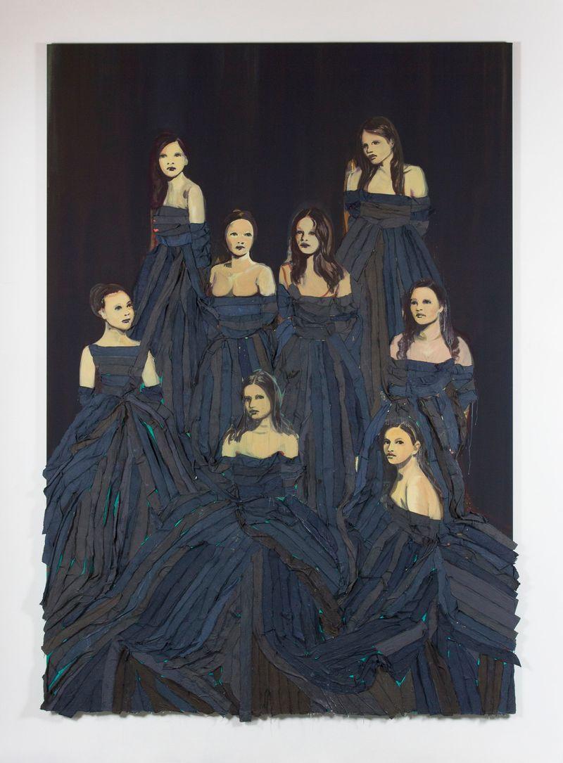 claire_tabouret_Les Débutantes (Dark Blue)