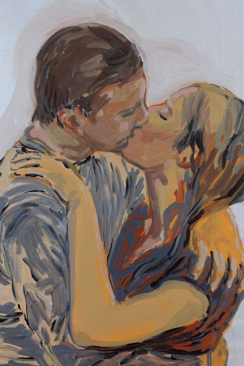claire_tabouret_The Kiss (blue and red)_claire_tabouret-47264_93232