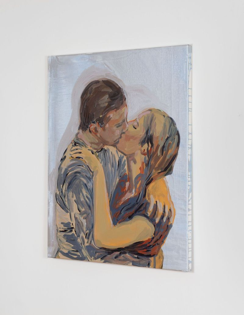 claire_tabouret_The Kiss (blue and red)_claire_tabouret-47264_93269