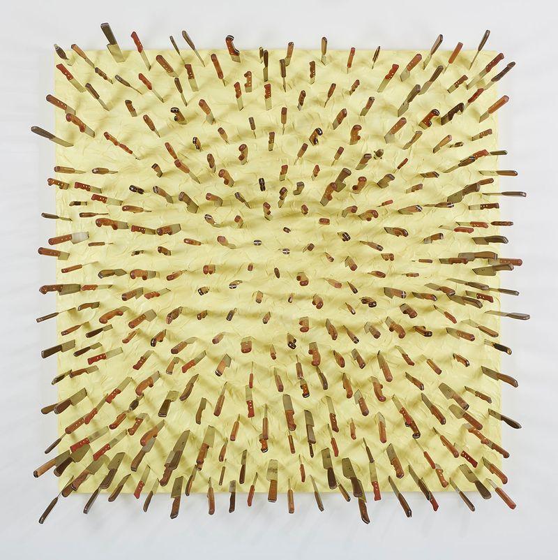 Farhad_Moshiri_Wooden Knife in Yellow