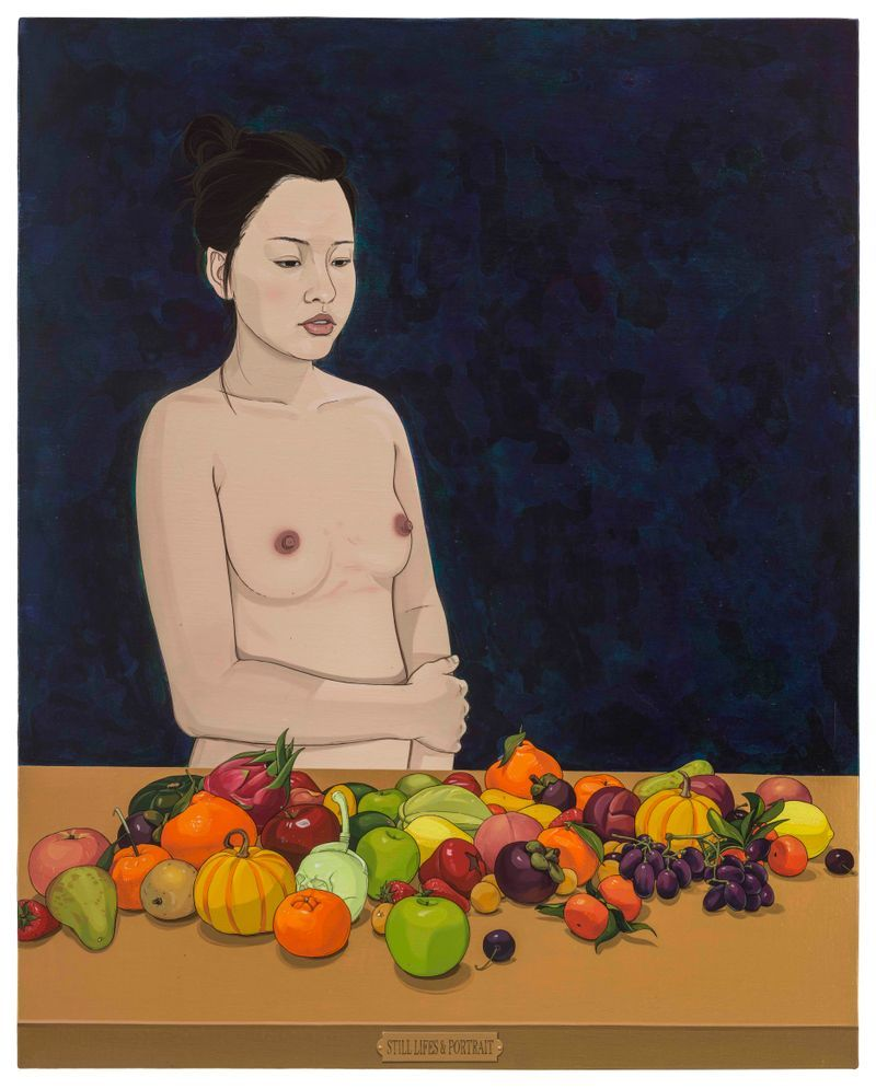 Fei_Chen_Still Lifes and Portrait / 肖像和靜物
