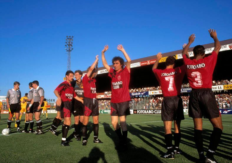 Gianni_Motti_Ala sinistraStade de la Maladière, Neuchâtel, football match (Neuchâtel/Xamax - Young Boys, Berne)