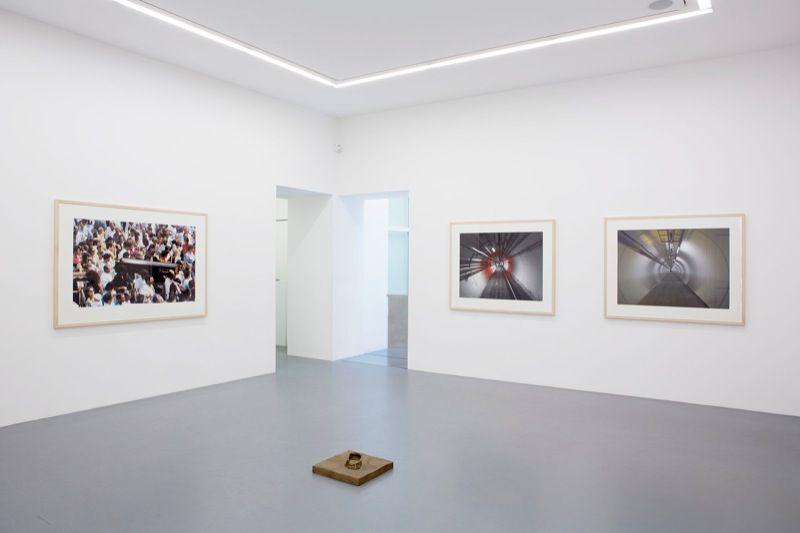 Vue d'exposition Galerie Perrotin Paris, 2013