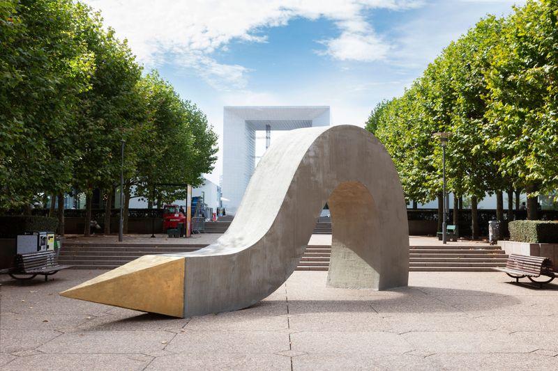 Outdoor installation, Les Extatiques, Parvis de la Défense, Paris, 2020