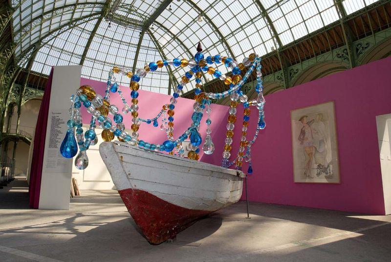 """View of the exhibition """"La Force de l'Art"""" in 2006 at Grand Palais, Paris"""