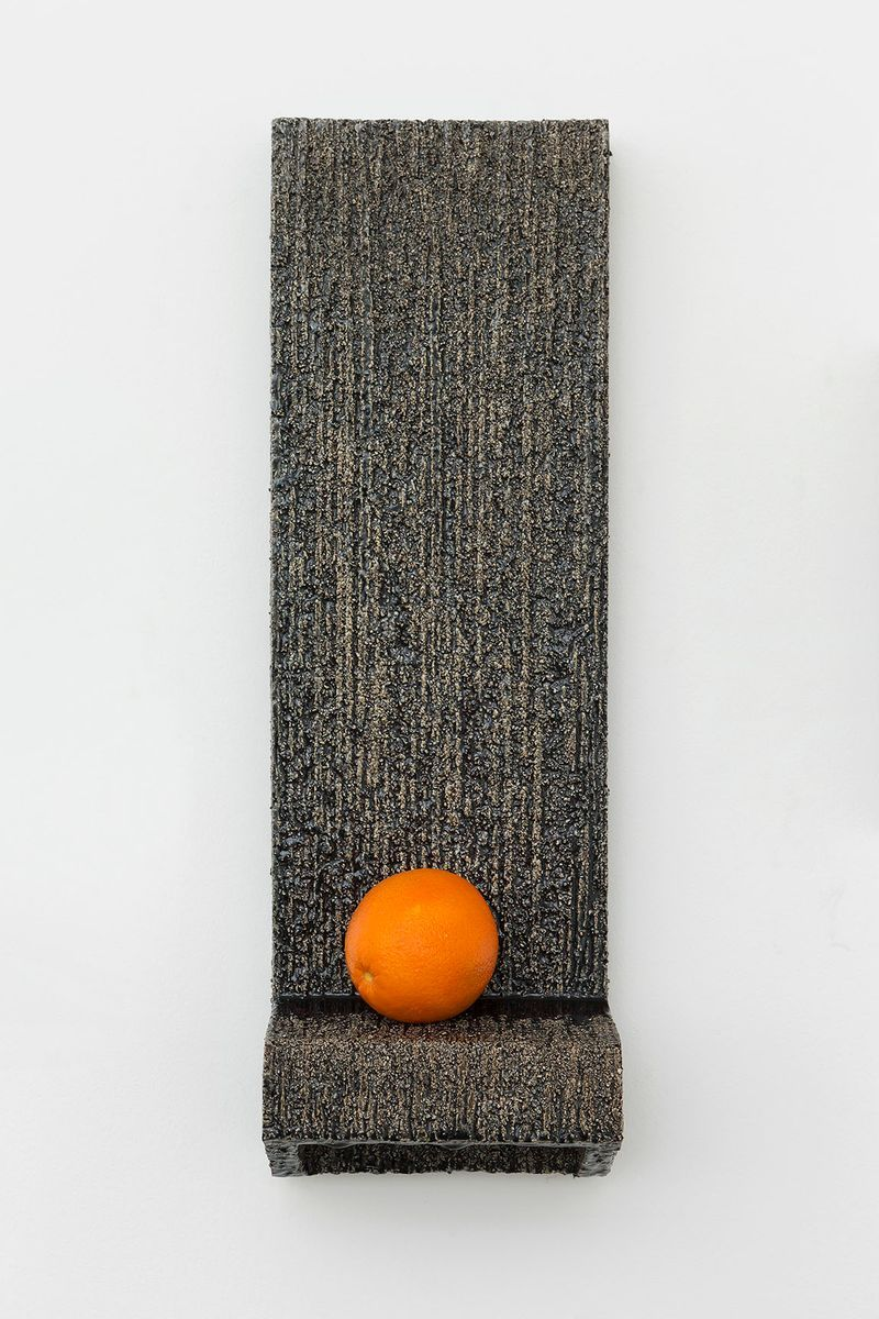 Johan_Creten_Présentoir d'Orange