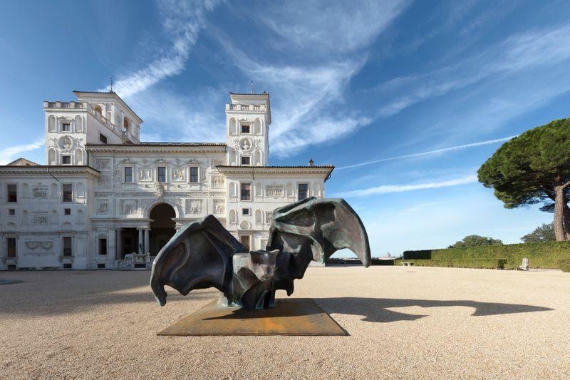 """Vue de l'exposition """"I Peccati"""", Villa Médicis, Rome, 2020"""
