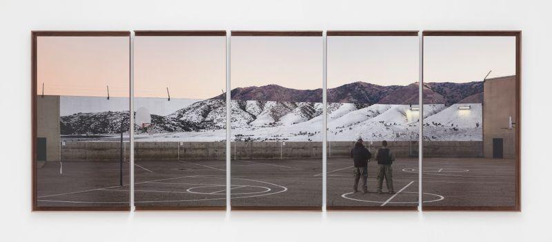 Jr_Tehachapi, Mountain, Pentaptych, U.S.A.
